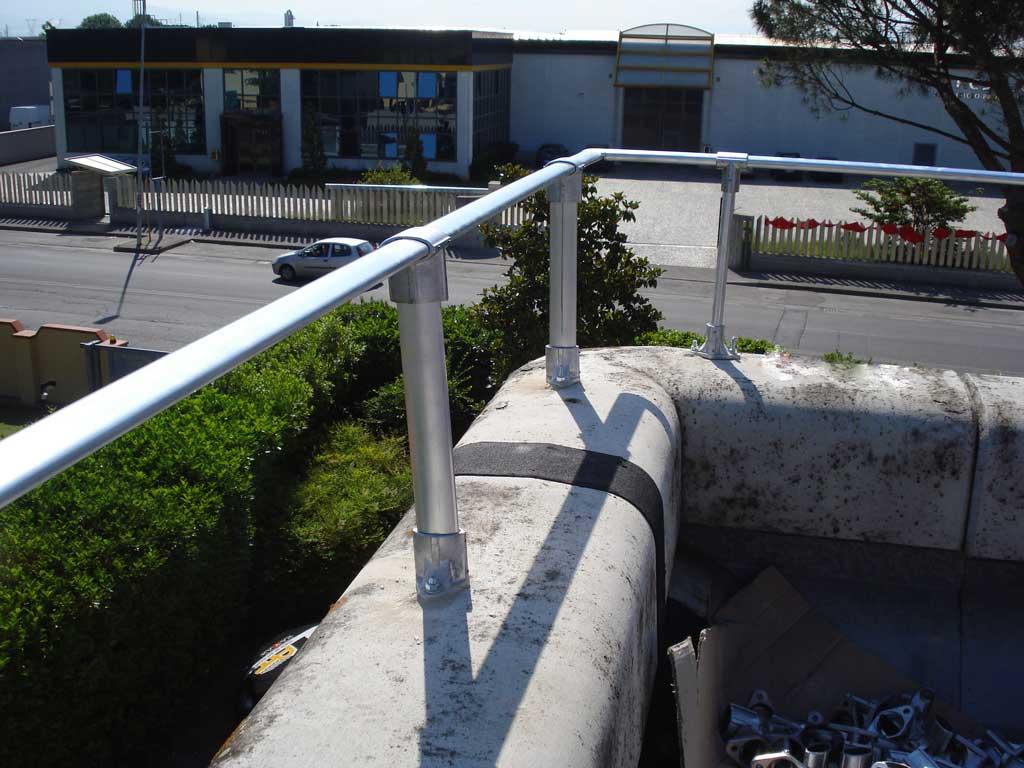 Installazione parapetti a Verona