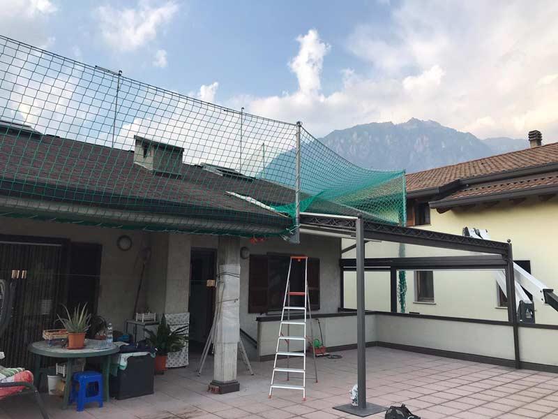 Installazione parapetti in rete Darfo Boario Terme